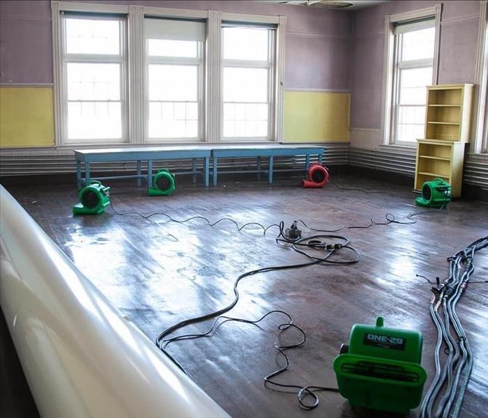 Water Damage in Haverhill, MA Art Center After